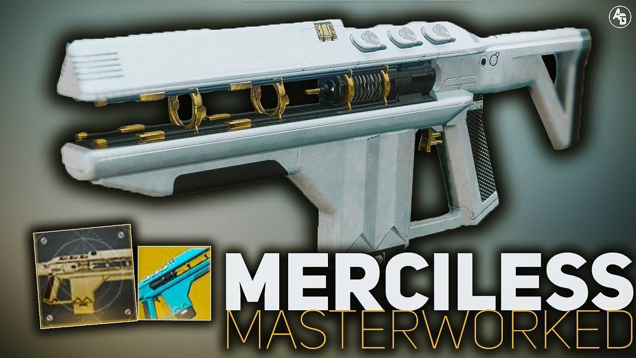Merciless Masterwork | Destiny 2 Exotic Catalyst Review