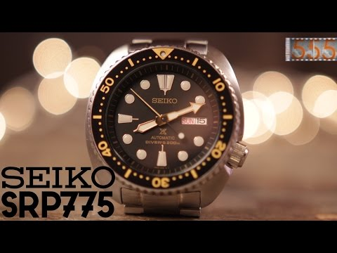 "Review: Seiko SRP775 ""Turtle"" Dive Watch - The Hype is Real"