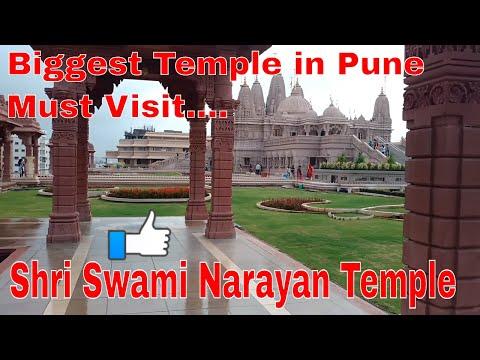 Shri Swami Narayan Temple  … Biggest Temple In Pune …Must Visit