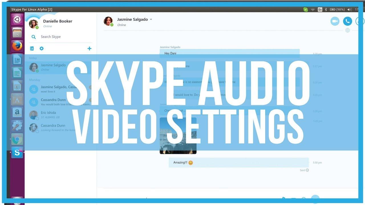 How To Adjust Skype Audio and Video Settings - Full Tutorial