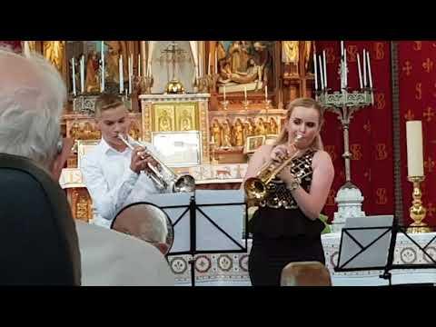 Melissa Venema & Julian Koenen - Panis Angelicus (26 aug. 2017)