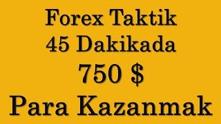 Forex Stratejiyle 45 Dakikada 750 Dolar Para Kazanmak