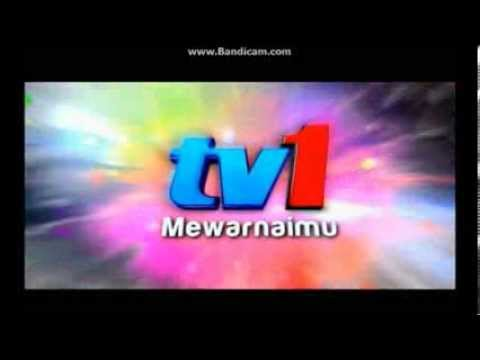 TV1 Mewarnaimu ident - sung version (2013-December 2016)