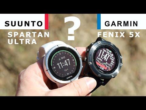 Часы Suunto Spartan Ultra или Garmin Fenix 5X – что выбрать?