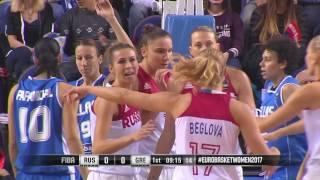 Россия - Греция / Женщины / Евробаскет-2017 / Отборочный матч