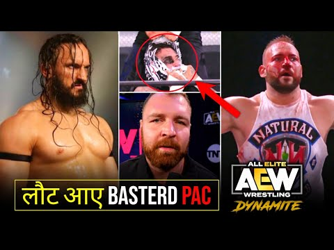 Finally PAC Returned 🤩|Jon Moxley Vs Kenny Omega Huge Announcement 😯|AEW Dynamite Highlights.