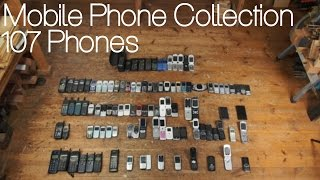 Mobile Phone Collection | 107 Phones
