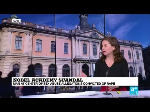 """Nobel academy scandal """"points the finger at the patriarchal nature of the Nobel institution"""""""