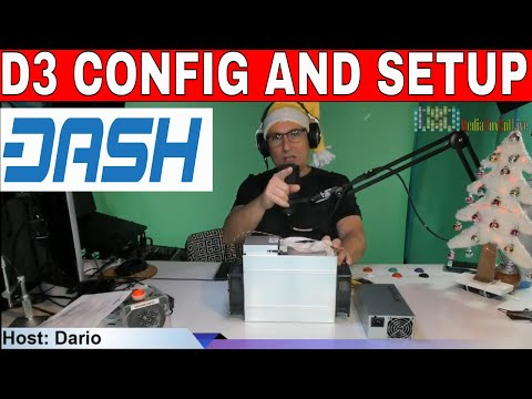 DASH D3 CONFIG AND SETUP