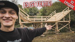Mein TRAUM MTB FEATURE ist FERTIG!   Build Vlog 2