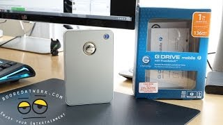 G Drive Mobile w/Thunderbolt HDD Review