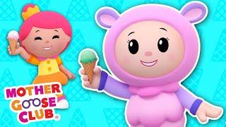 Ice Cream Song + More   Mother Goose Club Cartoons #NurseryRhymes