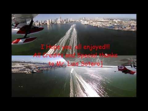 A SeaRey & Her WetFoot Pilot Low Approach/Flyby Jungle Island & X44 FPC 2016 KeyWest PokerRun