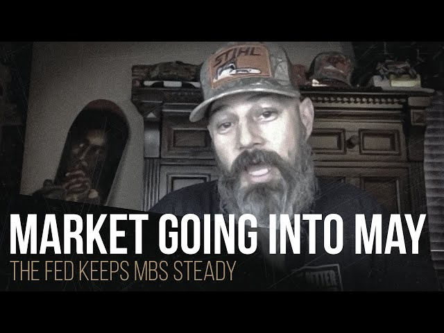 Market going into May