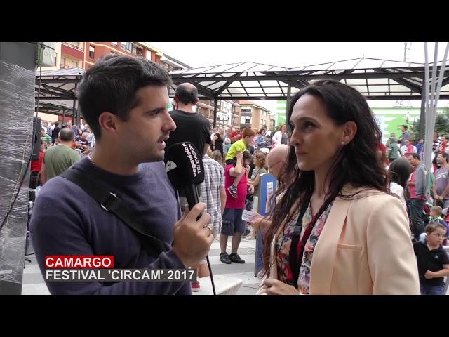 Circam se celebra con éxito en las calles de Camargo