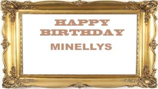 Minellys   Birthday Postcards & Postales - Happy Birthday