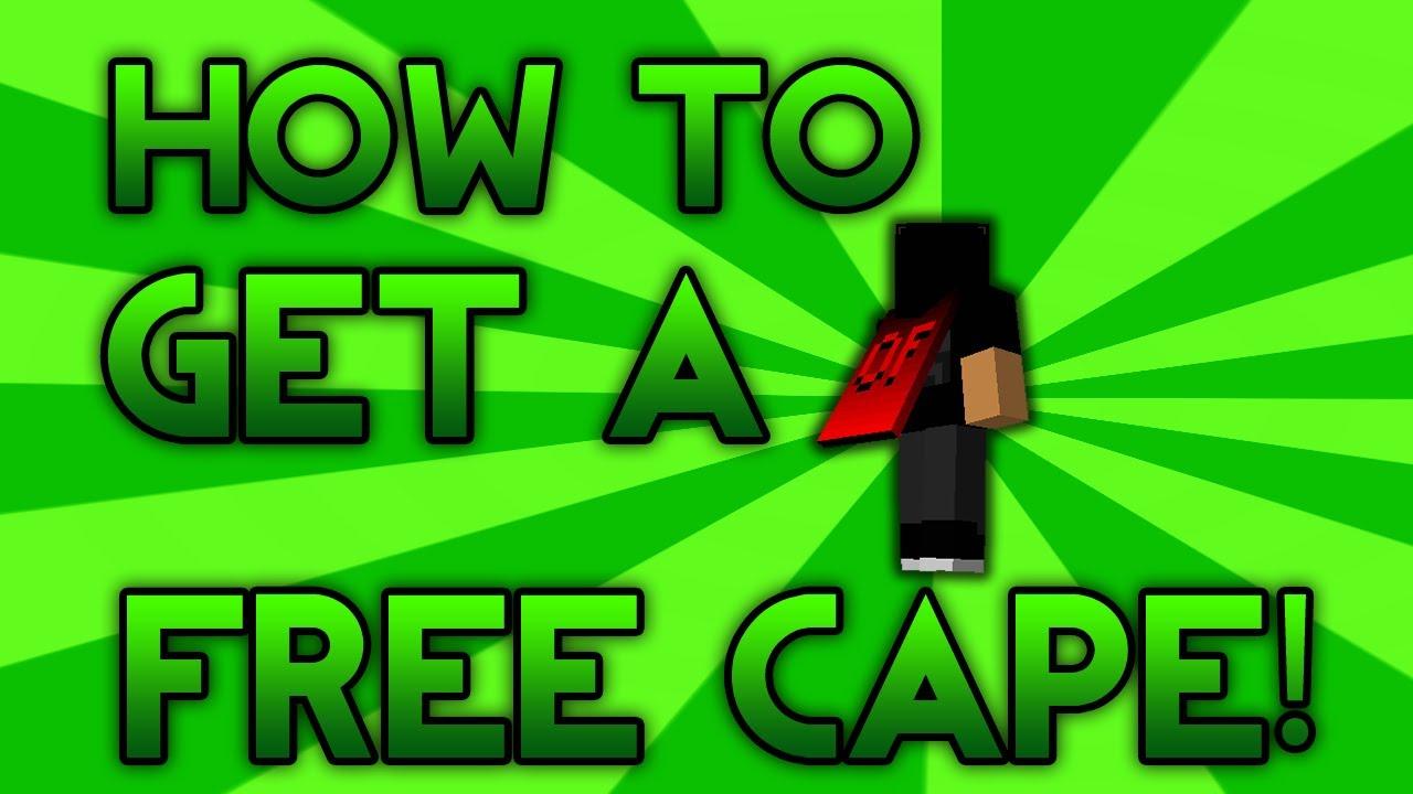 How To Get A Free Minecraft Cape 1 5 2 - 1 10 (READ DESCRIPTION)