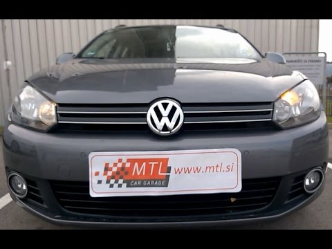 VW Golf 6 MY2013 - DRL disabled with turn signal active - dnevni žaromet izklju�en ob smerniku