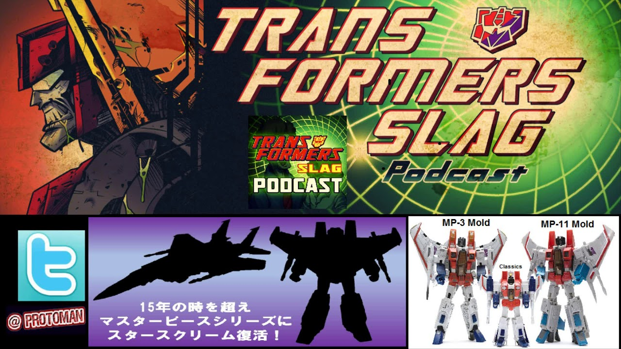 NEW Transformers Masterpiece Starscream / Seeker 3.0 COMING! MP-52