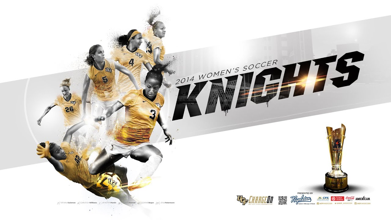 Sport Wallpaper Behance: UCF Women's Soccer Poster