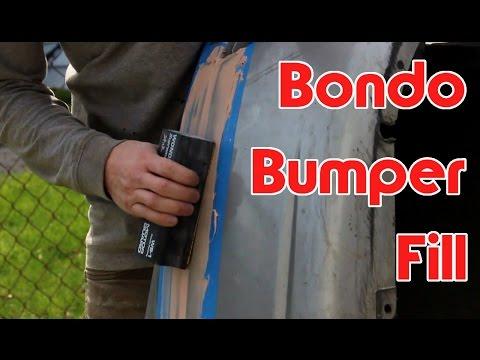 Bondo Bumper Fill - YouTube