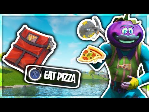 TOMATOHEAD SKIN can DELIVER PIZZA in Fortnite Battle Royale!