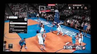 Lets play NBA2k15 Dallas Mavericks VS. Oklahoma City Thunder My Career Mode PS4