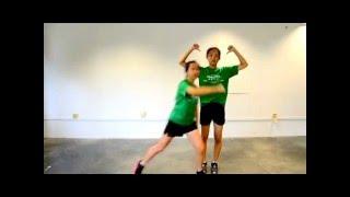 Athena Faculty Dance 2016 tutorial 2 (mirrored) -- Rock rock rock rock