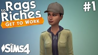 The Sims 4 Get To Work - Rags to Riches - Part 1