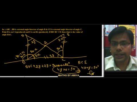 Maths By Amiya : Geometry 11 Angle 1