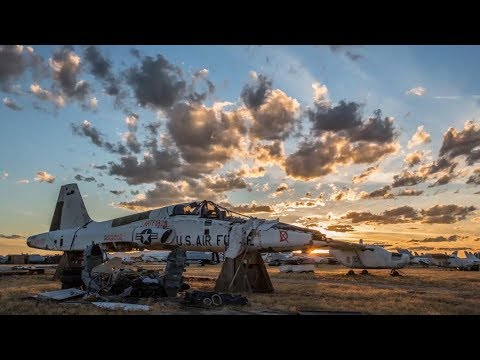 A 'Boneyard' In Arizona Where Most US Military Planes Go After They've Been Decommissioned