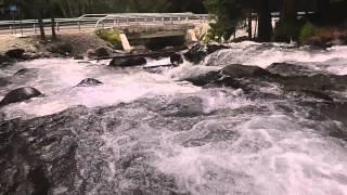 Домбай. Река Уллу-Муруджу(, 2013-06-24T08:05:59.000Z)