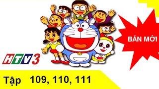 Phim hoạt hình Doremon tiếng Việt lồng tiếng tập 109,110,111 HTV3  HD