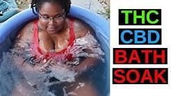 We tried a THC & CBD Bath Soak | Whoopi & Maya Review