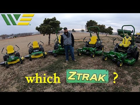 Which John Deere Ztrak Zero Turn Mower? | Is The Z3 Z5 Z7 Or Z9 Best For You?