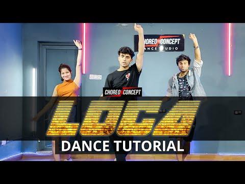 LOCA Dance Tutorial | Step By Step | Yo Yo Honey Singh | Choreo N Concept  Dance Studio