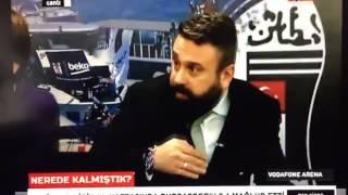 Vodafone arena bomba patlama anı BJK TV