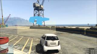 GTA 5 Online Course Custom Micro- Kart Port !