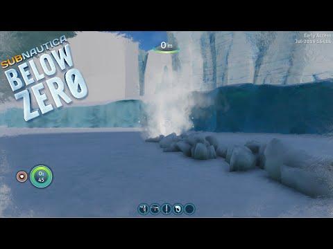 ICE WORM CHASE UPDATE  | Subnautica: Below Zero (experimental) Exploring Build 16414