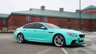 Modified BMW 650i Gran Coupe Review! | Better than an M6?