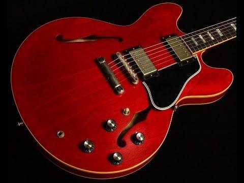 Gibson Memphis 50th Anniversary 1963 ES-335 TD Block VOS•SN: 24714