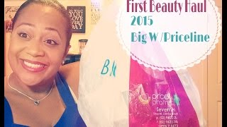 First Beauty Haul Video 2015 Big W and Priceline Thumbnail