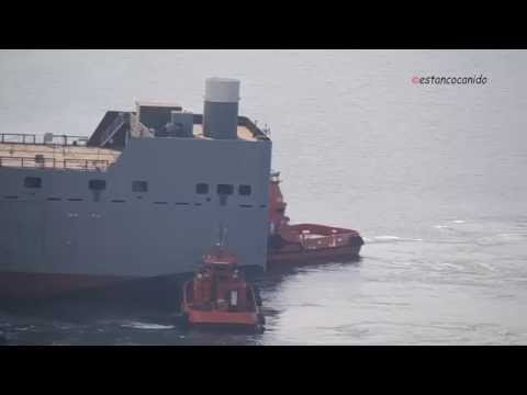 Botadura del Flotel REFORMA PEMEX