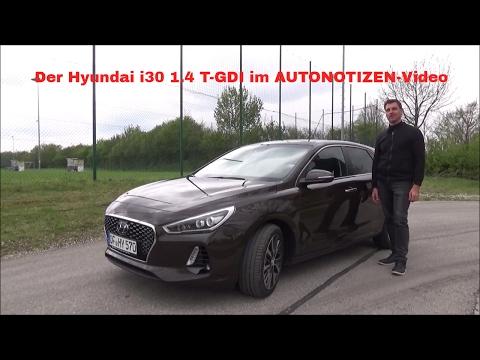 2017 Hyundai i30 1.4 Turbo GDI Premium Fahrbericht, Test, Review