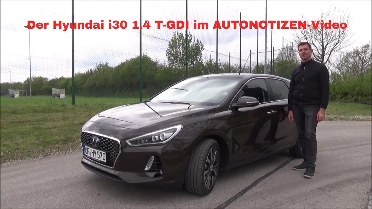 2017 Hyundai I30 14 Turbo Gdi Premium Fahrbericht Test Review