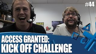 Access Granted: We take the Kick Off Revival challenge