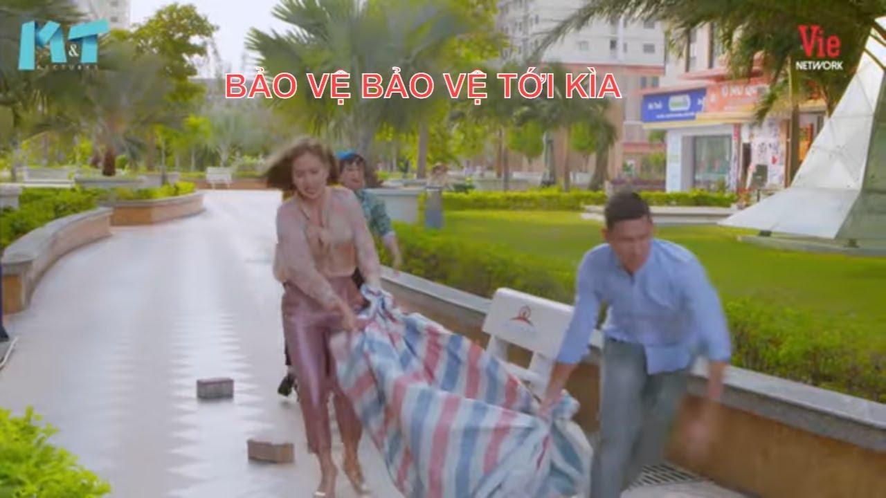 Ngọc Lan trải bạt bán quần áo vỉa hè, Nam Thư đi ngang lại ra sức cà khịa