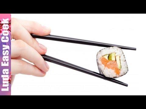 КАК ПРАВИЛЬНО ДЕРЖАТЬ ПАЛОЧКИ ДЛЯ СУШИ | How To Use Chopsticks
