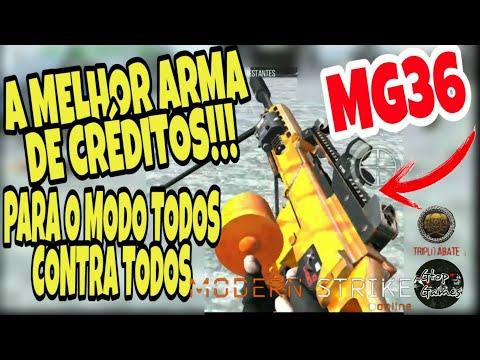 """MSO, MG36... A MELHOR """"ARMA DE CRÉDITOS"""" PARA O MODO TODOS CONTRA TODOS!!! (DEATH MATCH)"""
