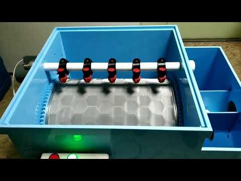 Механический фильтр барабанного типа 30 м куб